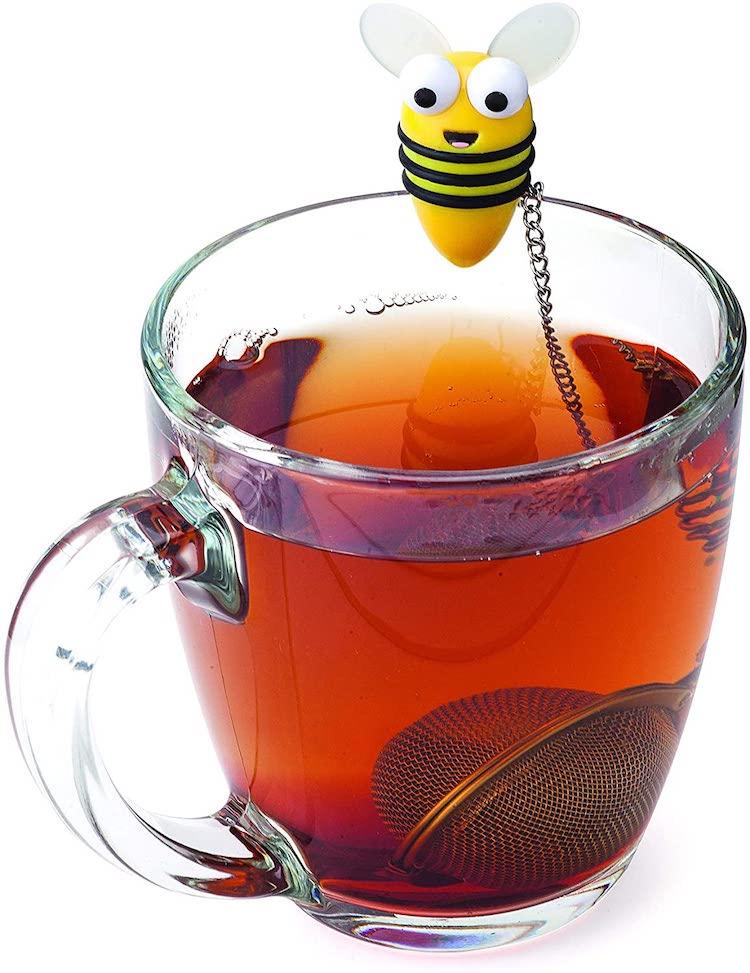 Infusor de té de abeja