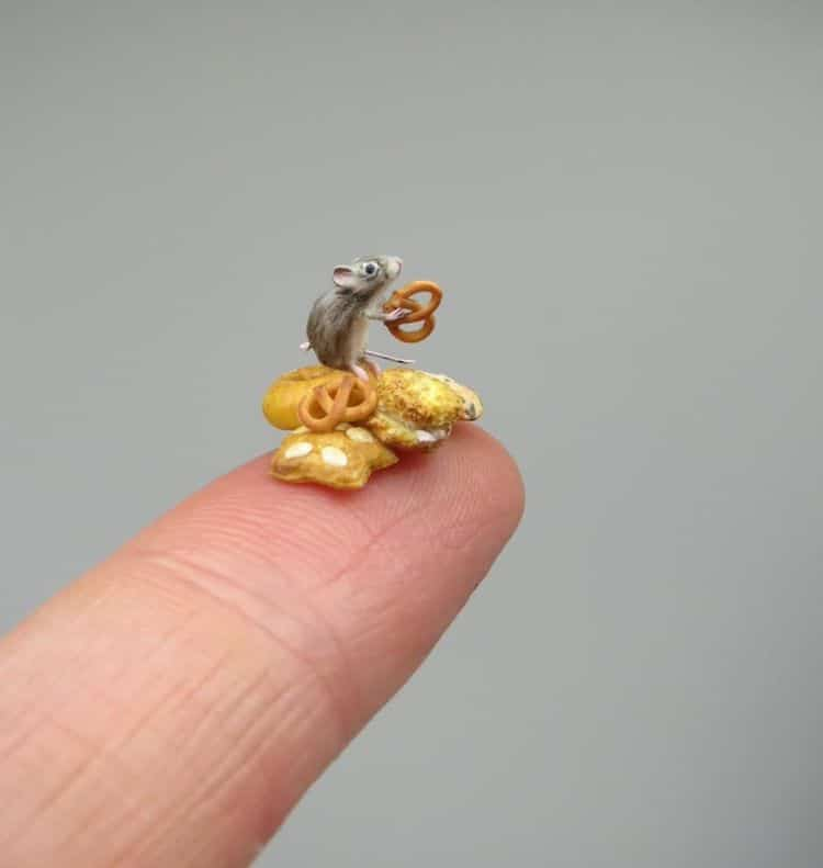 Miniature Animals by Fanni Sandor