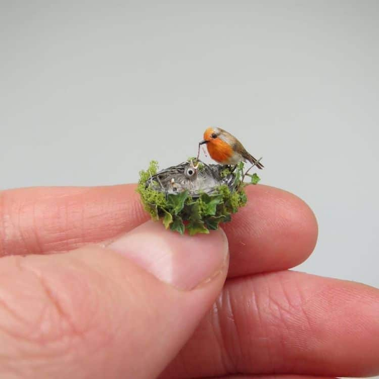 Dollhouse Miniatures by Fanni Sandor