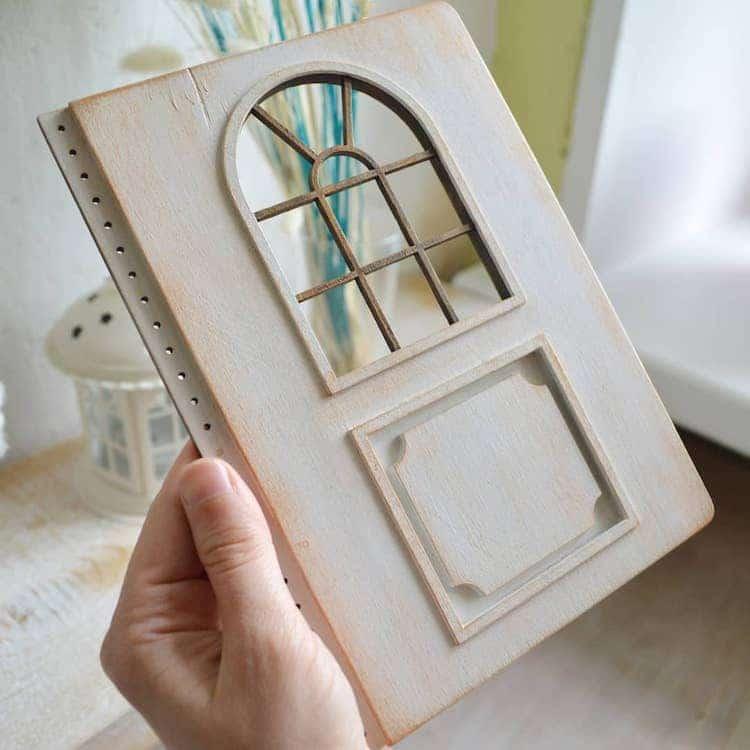 Wooden Door Journals by Walking Fish