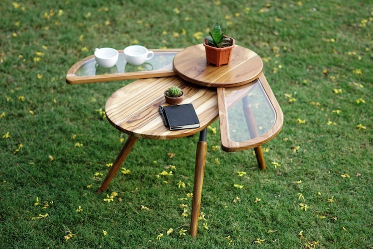 Beetle-Inspired Table Design