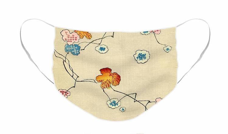 Japanese Woodblock Print Cloth Face Mask