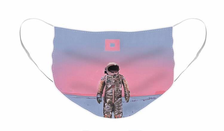 Astronaut Cloth Face Mask