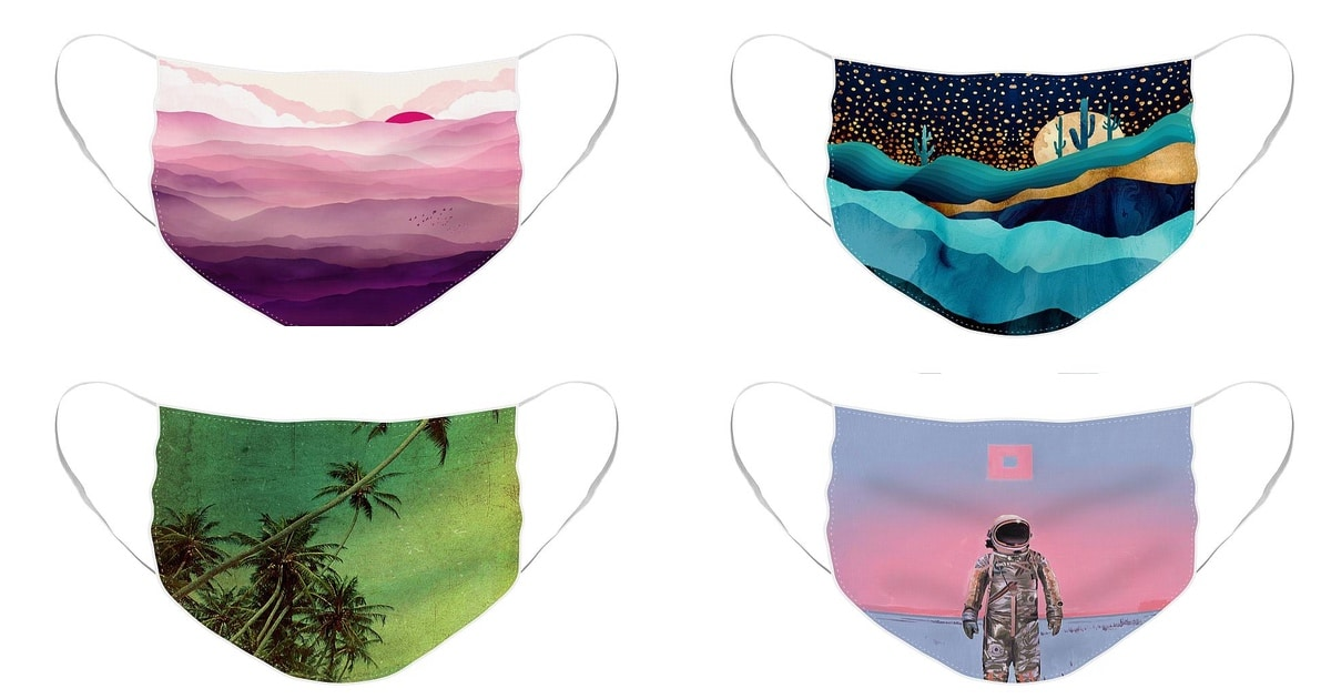 20 Reusable Face Masks Designs By Independent Artists