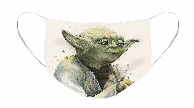 Yoda Cloth Face Mask