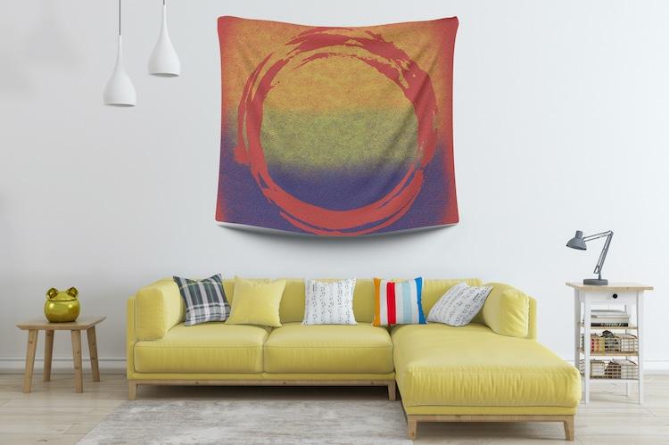 Minimalist Wall Tapestry