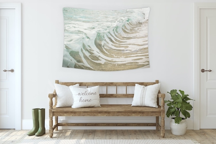 Wall Tapestry Used to Decorate Home Interior