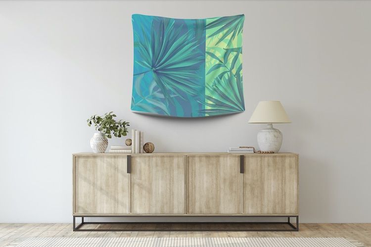 Nature-Themed Wall Hanging