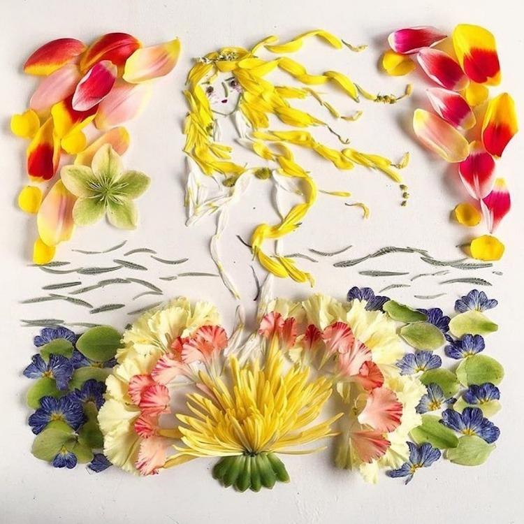 Flower Art by Bridget Beth Collins