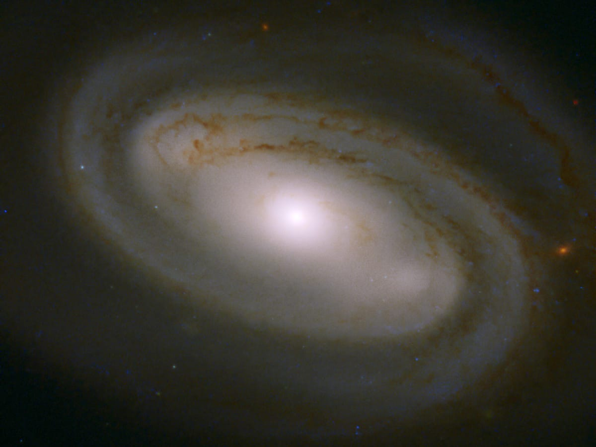 NGC 3895 Galaxy in the Ursa Major Constellation