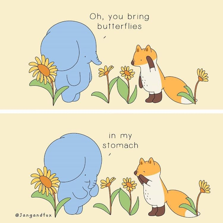 Heartwarming Animal Comics by JangandFox Studio