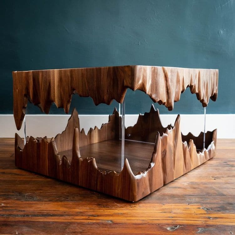ImpossibleFloating Cave Table By John Malecki