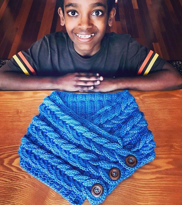 Piezas de crochet de Jonah Larson