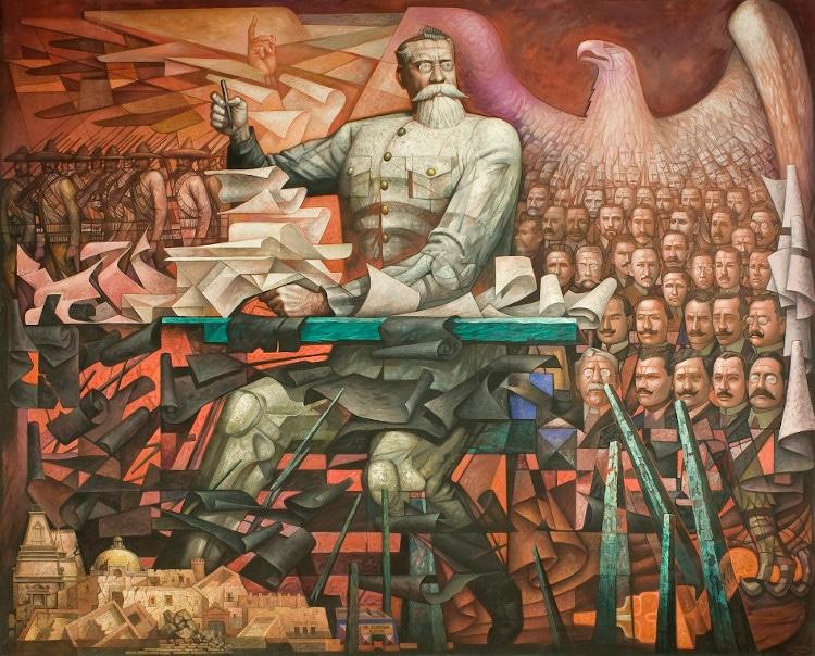 jorge gonzalez camarena Venustiano Carranza y la Constitución de 1917