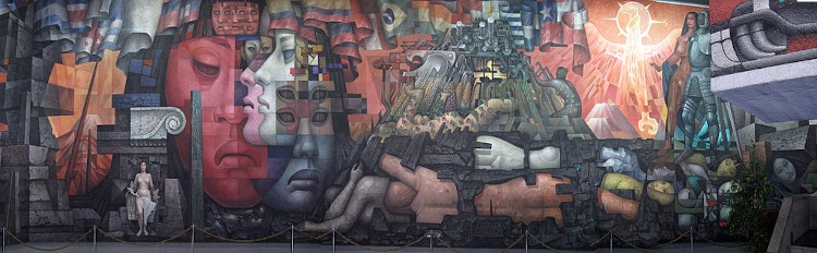 jorge gonzalez camarena presencia de america latina