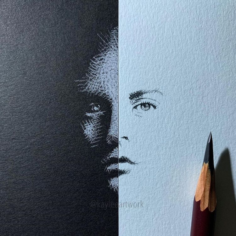 Black and White Drawings by Kay Lee