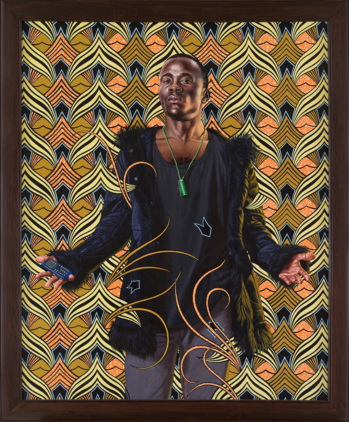 Kehinde Wiley Painting