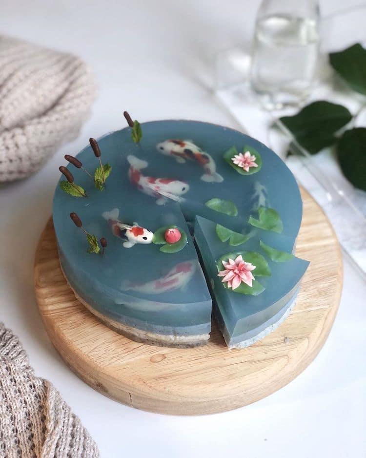 Koi Fish Cake