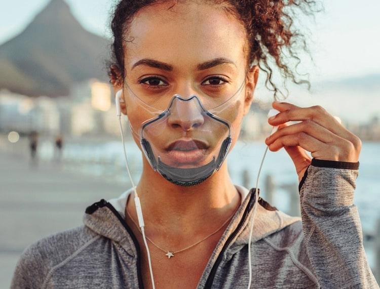 LEAF Transparent Face Mask