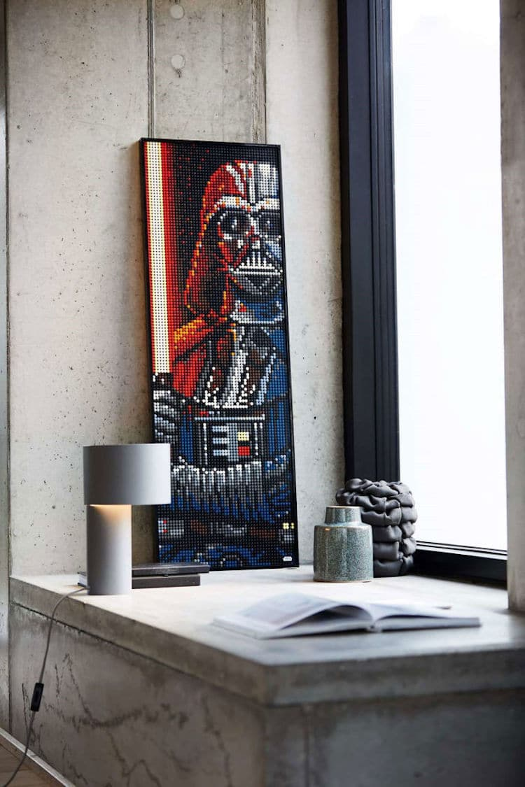 LEGO Art - póster de Star Wars