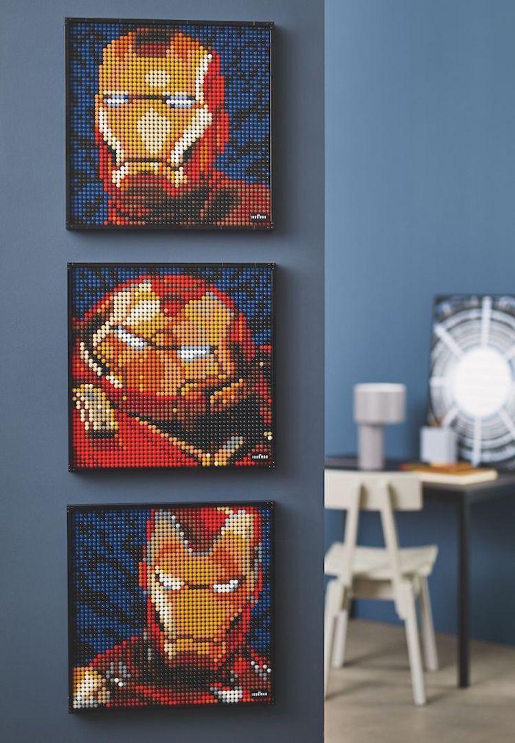 Set para construir pósters de LEGO