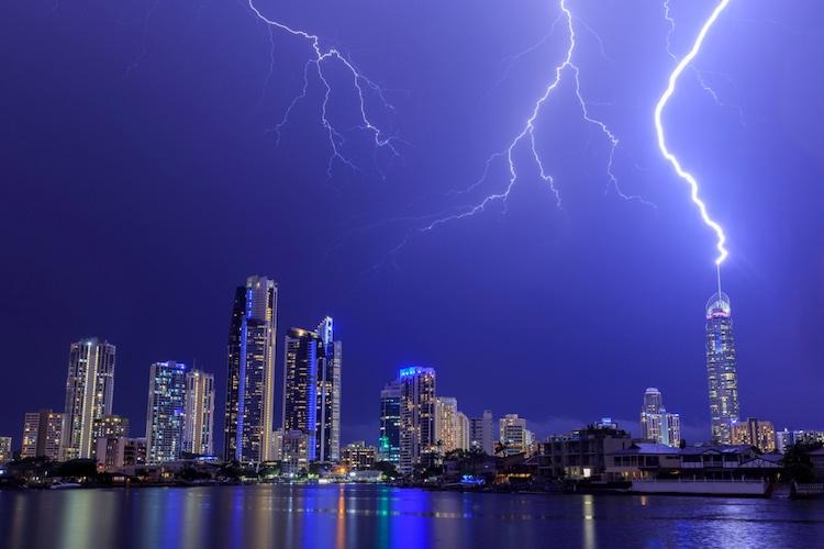 Tormenta eléctrica sobre Queensland