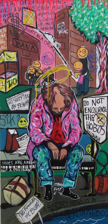 Lucas Joel Macauley Arte sobre adicciones