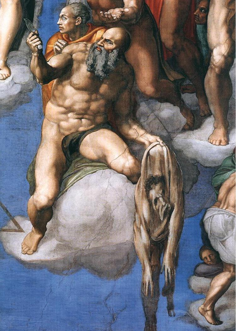 St. Bartholomew in Michelangelo's Last Judgment