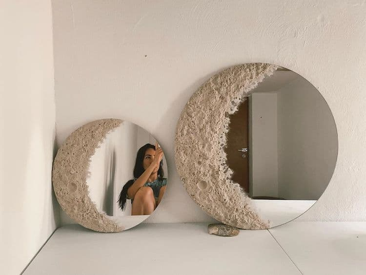 Moon Mirror by Granila Santisteban