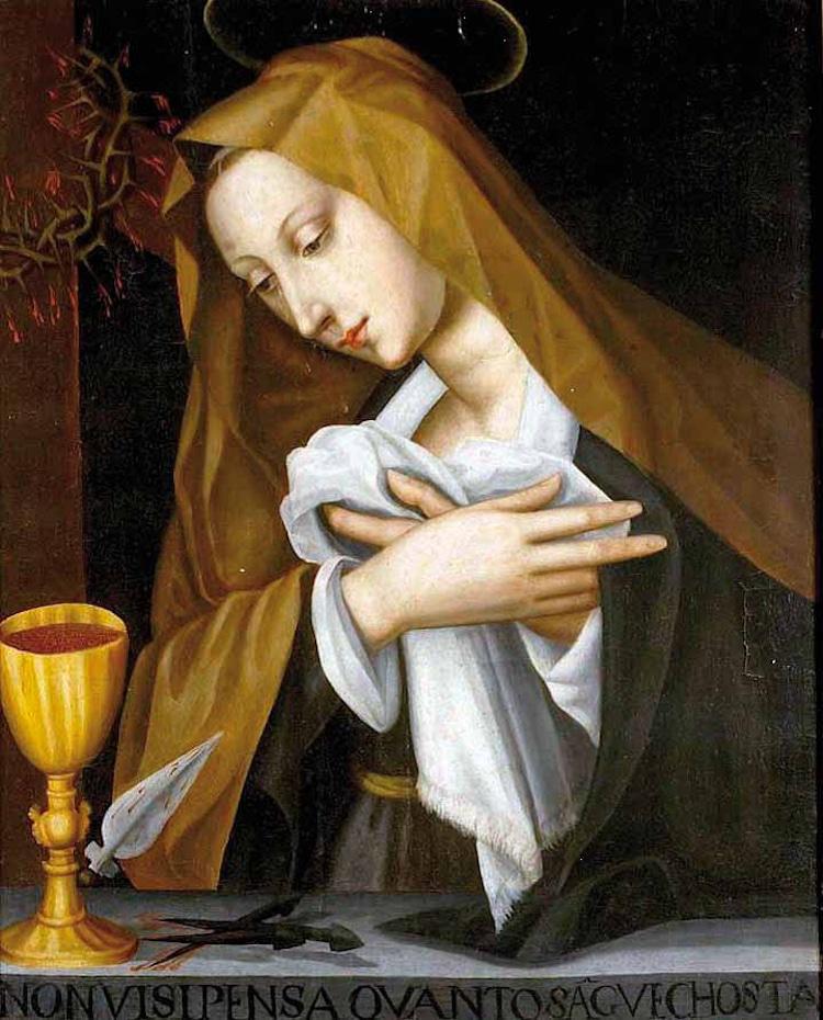 Madonna by Plautilla Nelli