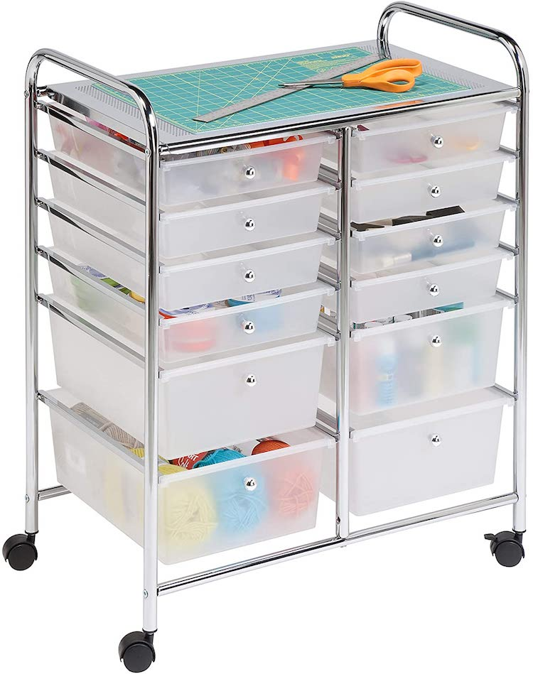 Rolling Cart and Organizer