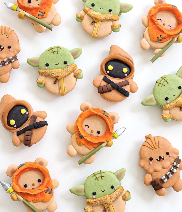 Star Wars Macaron Cookies