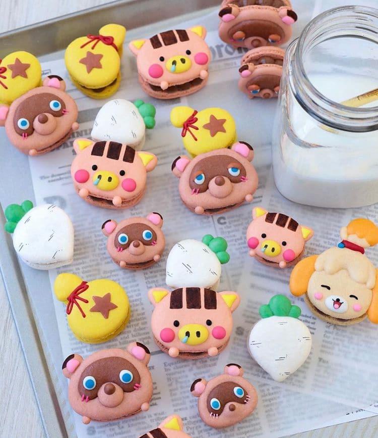 Animal Crossing Cookies