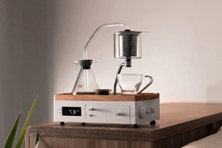 The Bariseur 2.0 Coffee Maker Alarm Clock