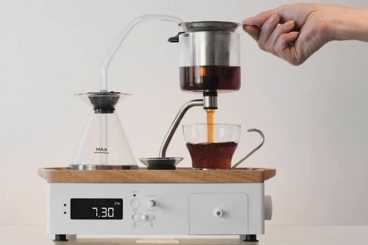 The Barisieur 2.0 reloj despertador con cafetera