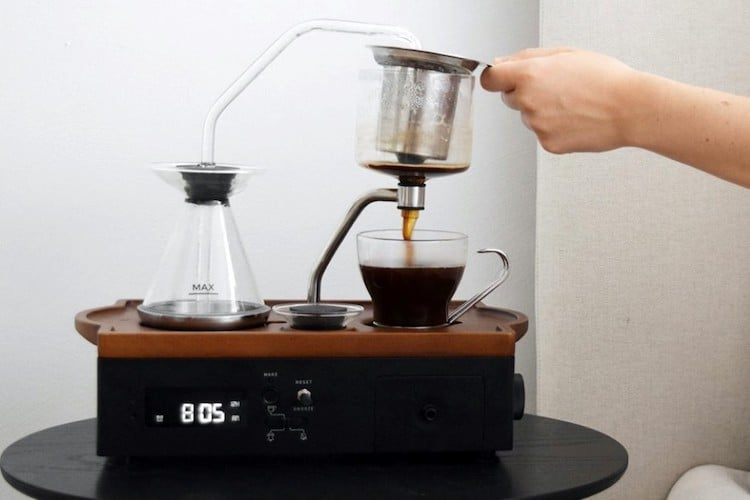 The Barisieur 2.0 Coffee Maker Alarm Clock