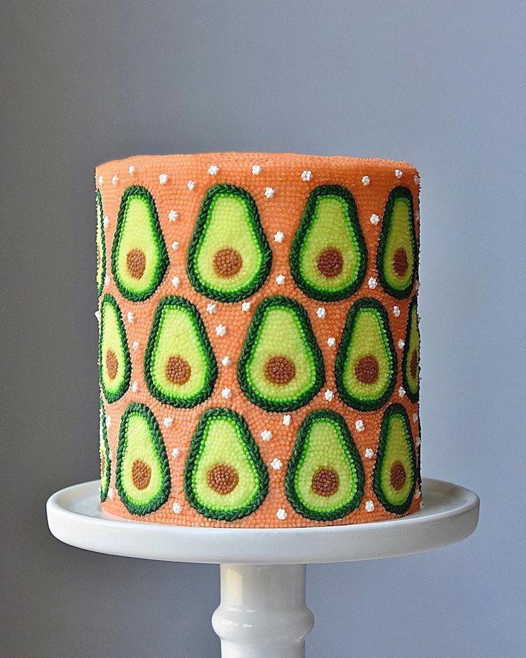 Beaded Cake Decorating Ideas