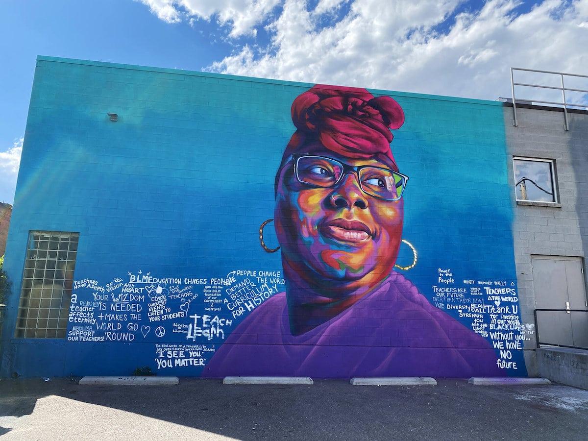 Community Art by Thomas Detour Evans