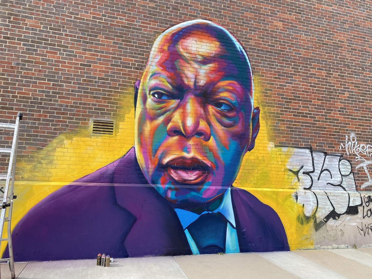 John Lewis Tribute Mural
