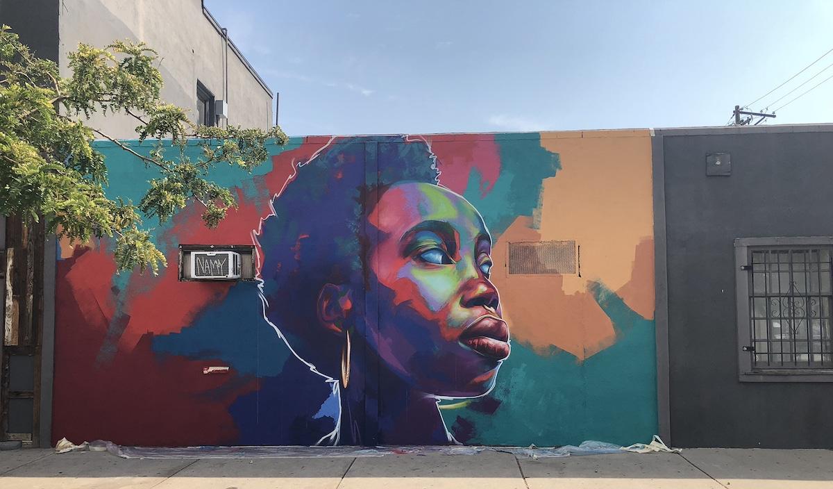 mural de Thomas Detour Evans