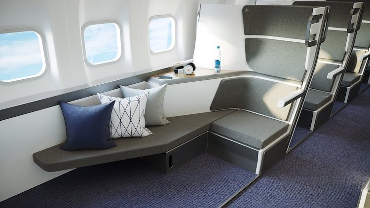 Comfortable Economy Seating by Zephyr Aerospace