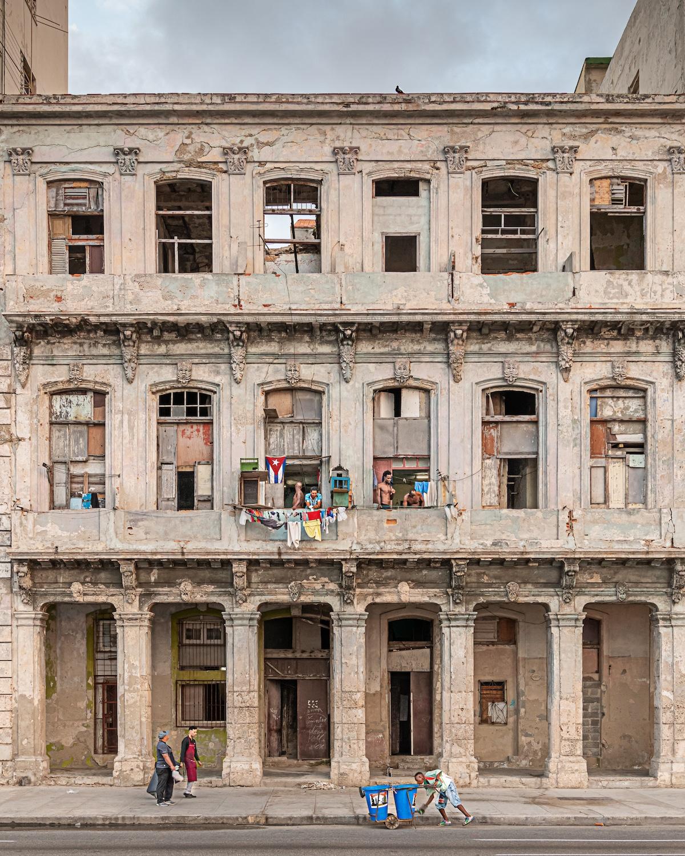 Derelict Building in Cuba