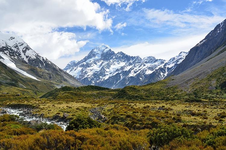 Aoraki New Zealand Landscape