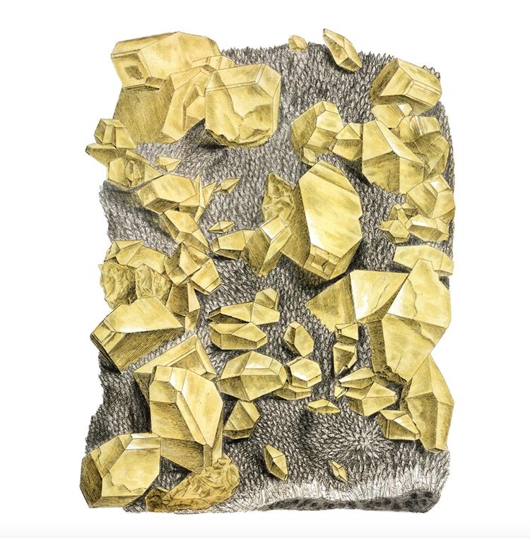 British And Exotic Mineralogy Nicholas Rougeux Sulphur