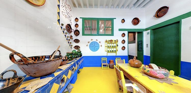 Casa Azul Frida Kahlo Cocina