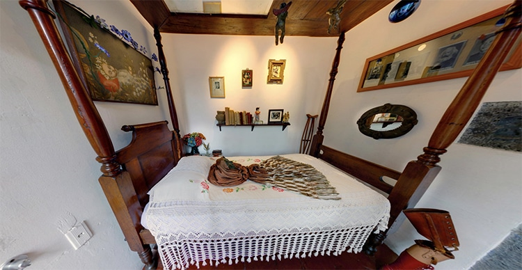 Frida's Bedroom