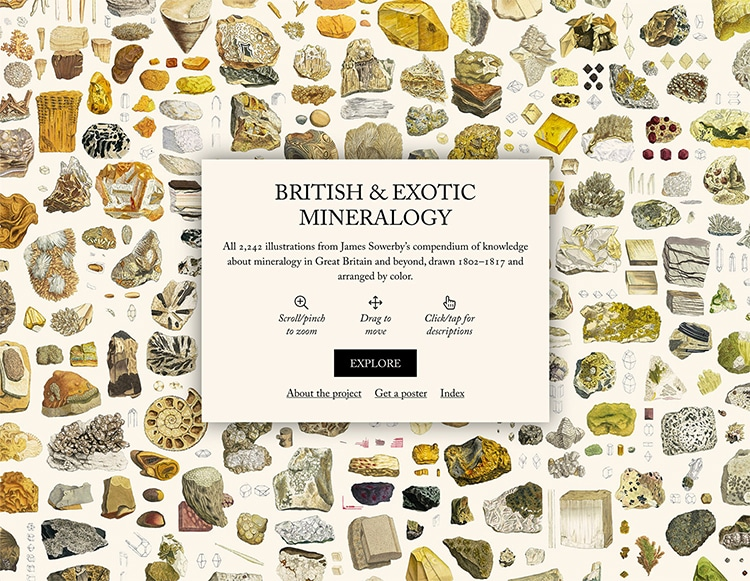 Cover British And Exotic Mineralogy Nicholas Rougeux