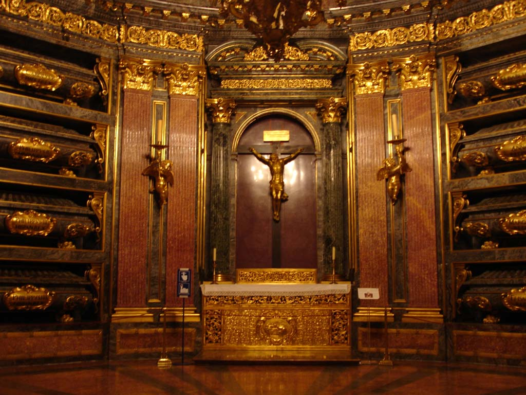 Panteón de Reyes en El Escorial