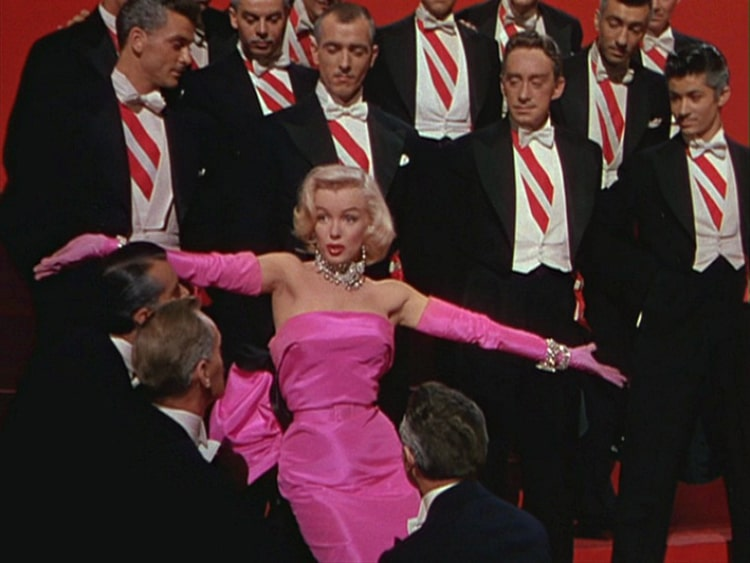 Gentlemen Prefer Blondes Marilyn Monroe