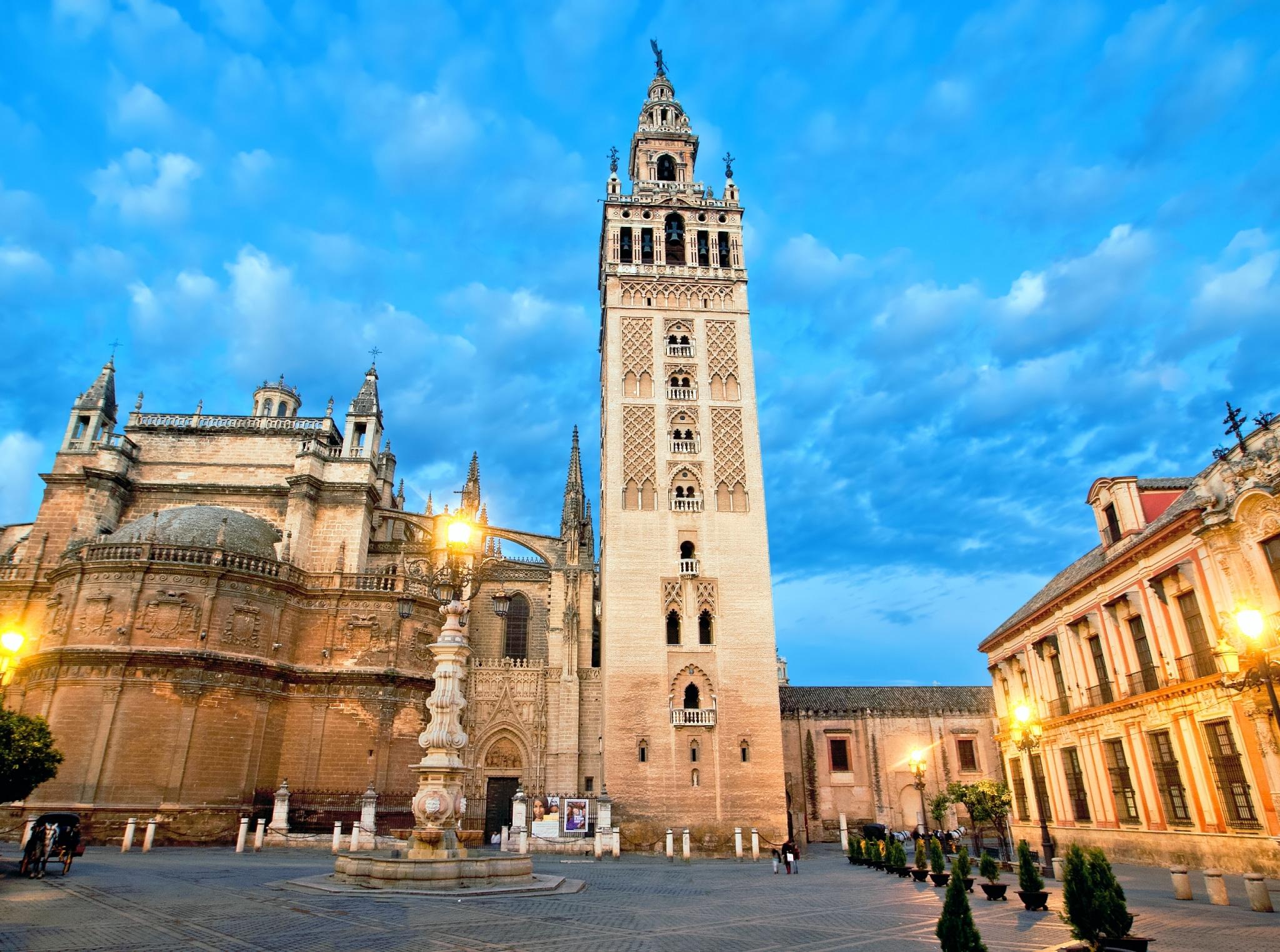La Giralda de la catedral de Sevilla